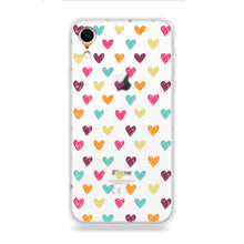Funda Para Celular - Color Hearts - Unique Cases