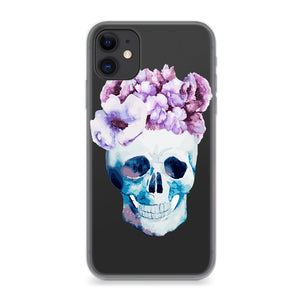 Funda Unique Cases para celular - Flower Skull