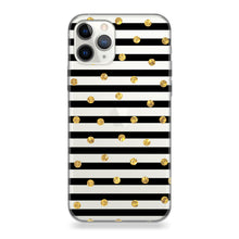 Funda Para Celular - Gold Polka - Unique Cases