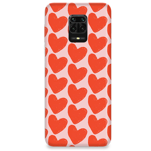 Funda para Xiaomi Redmi Note 9S - Love in Pink