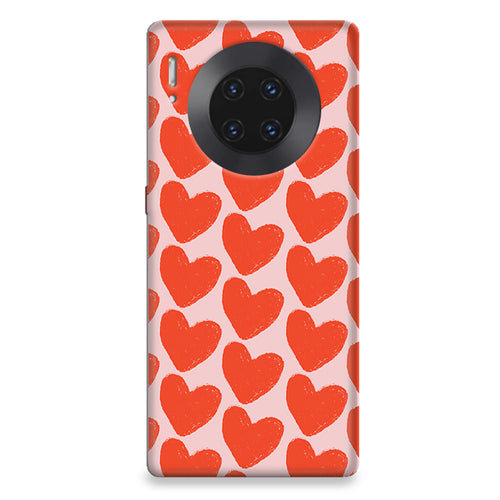 Funda para Huawei - Love in Pink