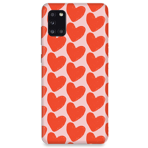 Funda para Samsung Galaxy Serie M - Love in Pink