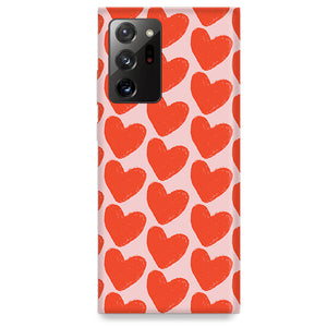 Funda para Samsung Galaxy Note - Love in Pink