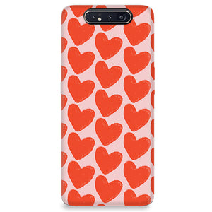 Funda para Samsung Galaxy Serie A - Love in Pink