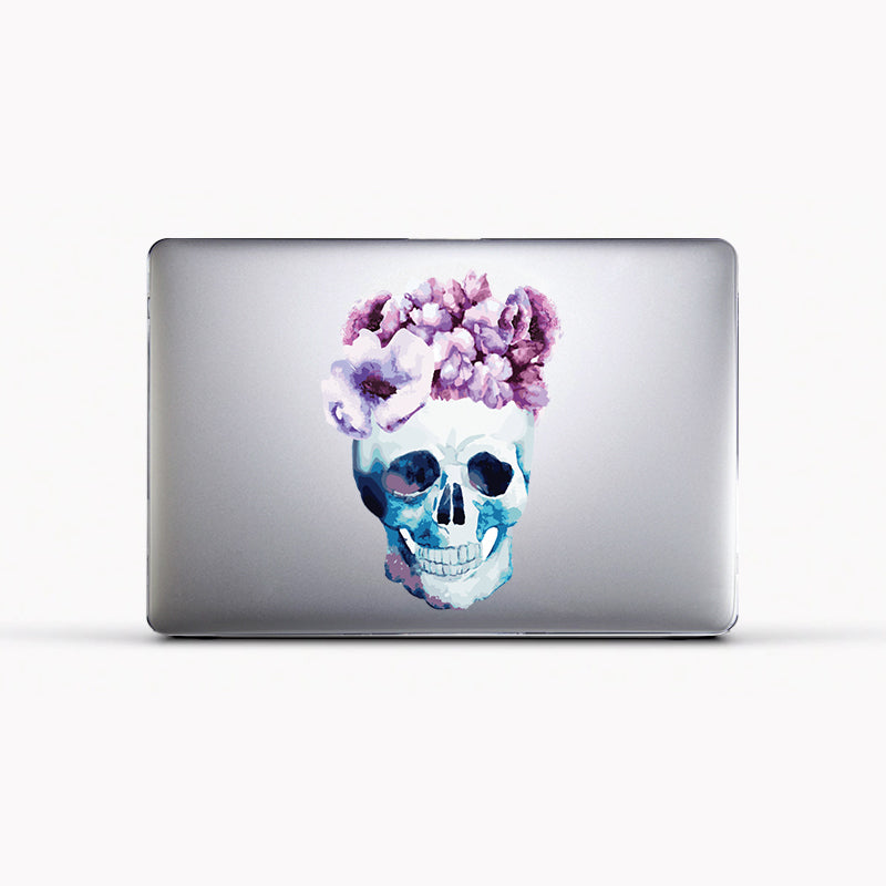 Case para Mac - Flower Skull - Unique Cases