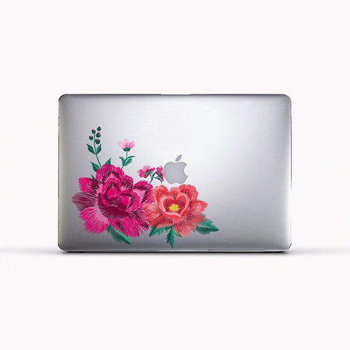 Funda para Macbook - Floral Embroidery