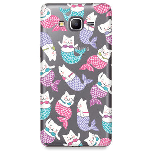 Funda para Samsung Galaxy Grand Prime - Mermaid Cat