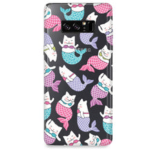 Funda para Samsung Galaxy Note - Mermaid Cat