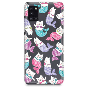 Funda para Samsung Galaxy Serie M - Mermaid Cat
