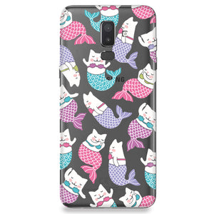 Samsung Galaxy Serie J - Mermaid Cat