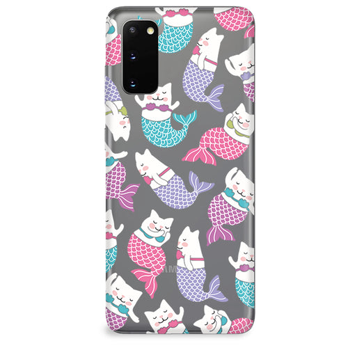 Funda para Samsung Galaxy Serie S - Mermaid Cat