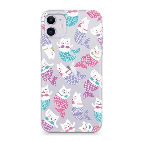 Funda Para Celular - Mermaid Cat