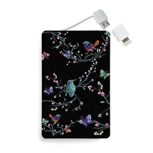 Batería Portátil - Satin Birds - Unique Cases