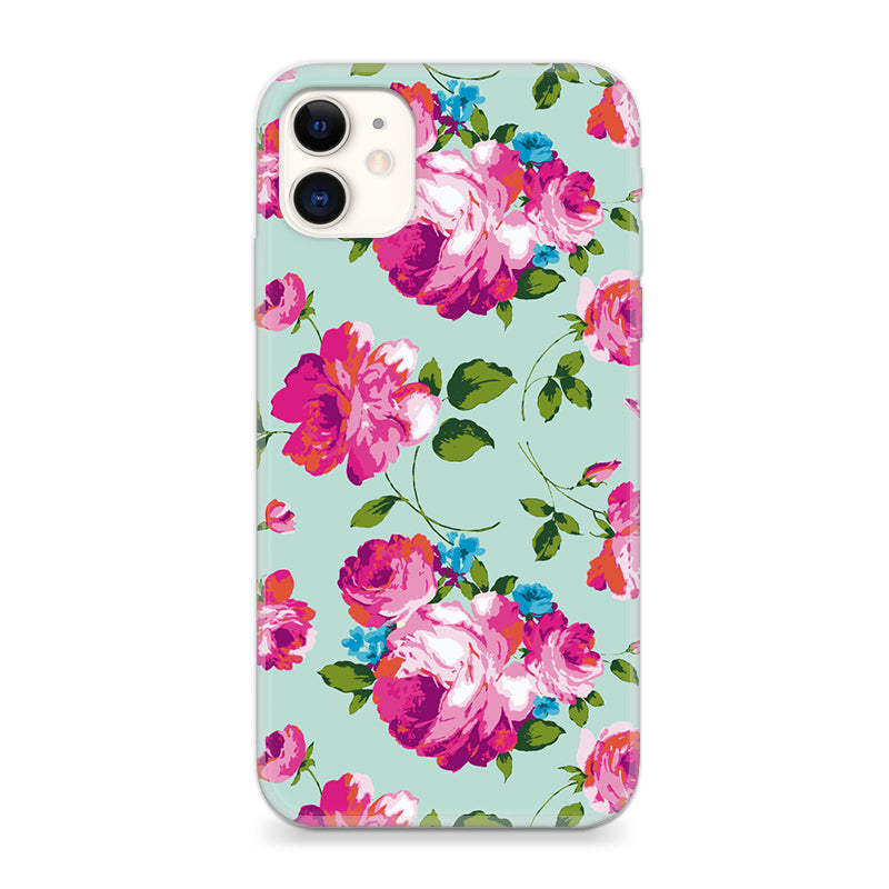 Funda Unique Cases para celular - Neon Flowers - Unique Cases