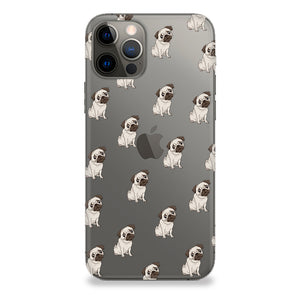 Funda para celular - Pug Pattern - Unique Cases