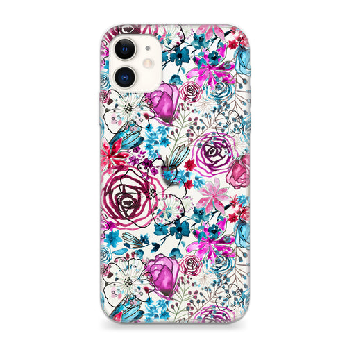 Funda Unique Cases para celular - Purple Flowers - Unique Cases