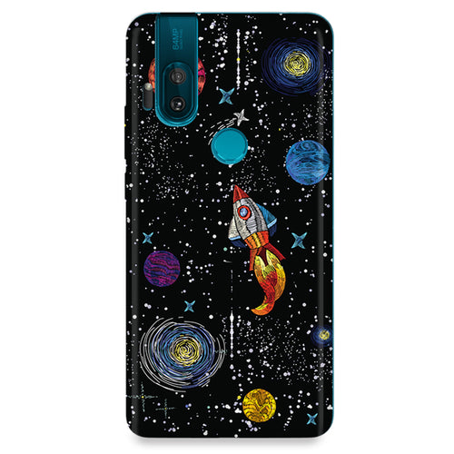 Funda para Motorola - Space Travel