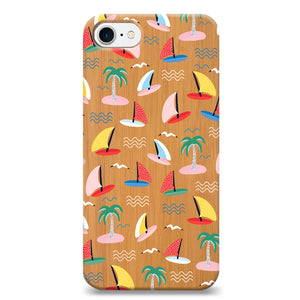 Funda Unique Cases de Madera para Celular - Summery