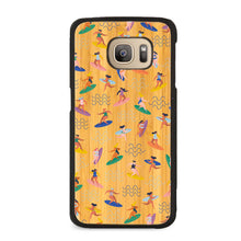 Funda Unique Cases de Madera para Celular - Surf Club