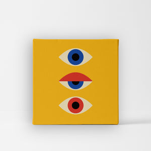 Unique Canvas - Three eyes