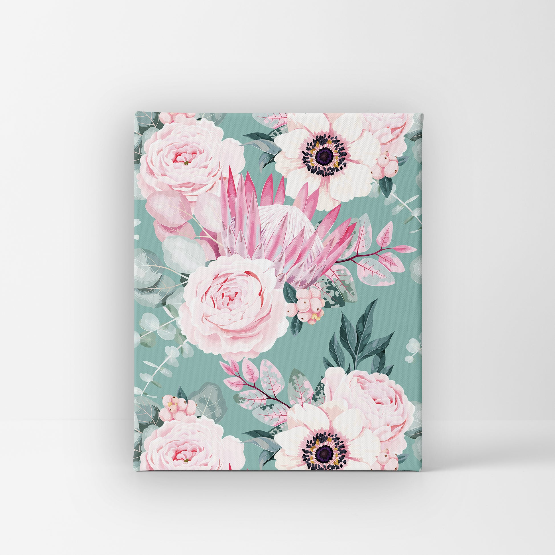 Unique Canvas - Vintage Flower