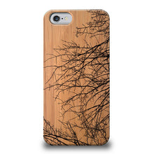 Funda Unique Cases de Madera para Celular - Branches