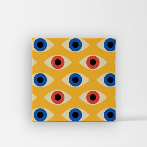 Unique Canvas - Yellow Eye