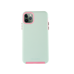 Funda para iPhone 11 Pro Max - Aero Grip Aqua/Rosa