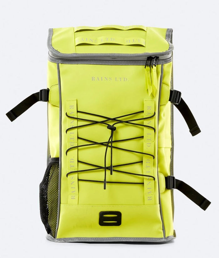 Mochila LTD MOUNTAINEER BAG Amarillo Neón de RAINS