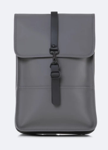 Mochila BACKPACK MINI Gris Oscuro de RAINS