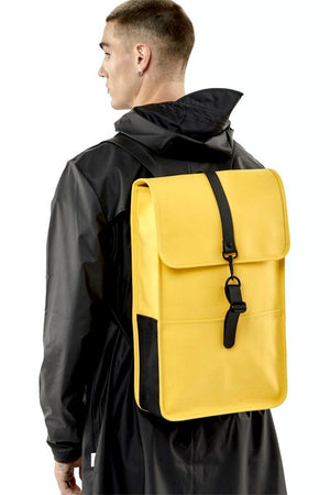 Mochila RAINS Amarilla BACKPACK