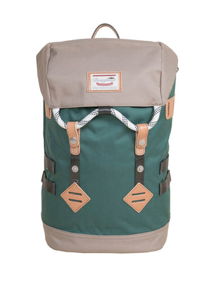 Mochila COLORADO SMALL VERDE Y BEIGE
