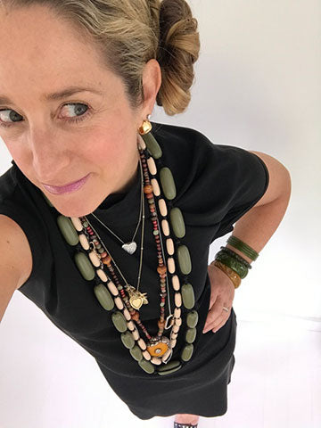EvieMarques Beaded Necklace