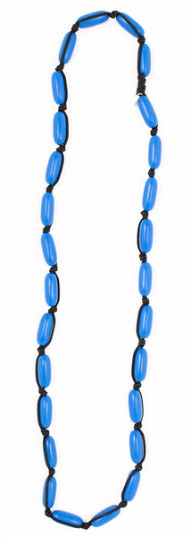 Evie Marques Midi necklace Big Sky on black cord
