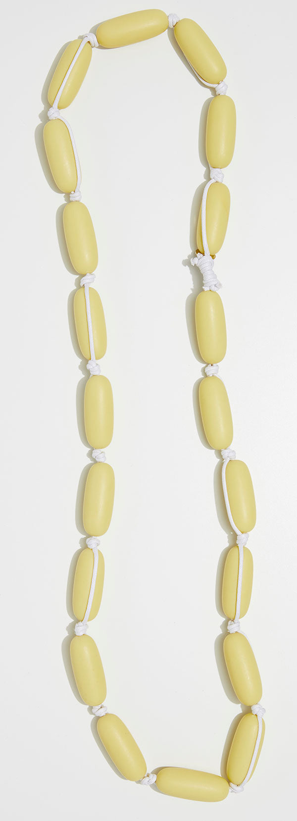Evie Marques Original necklace Bowie on white cord