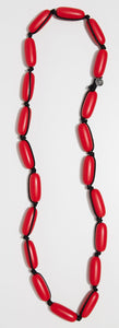 Evie Marques Original necklace Cherry Pie on black cord