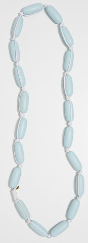 Evie Marques Endless Summer necklace Cloud on white cord
