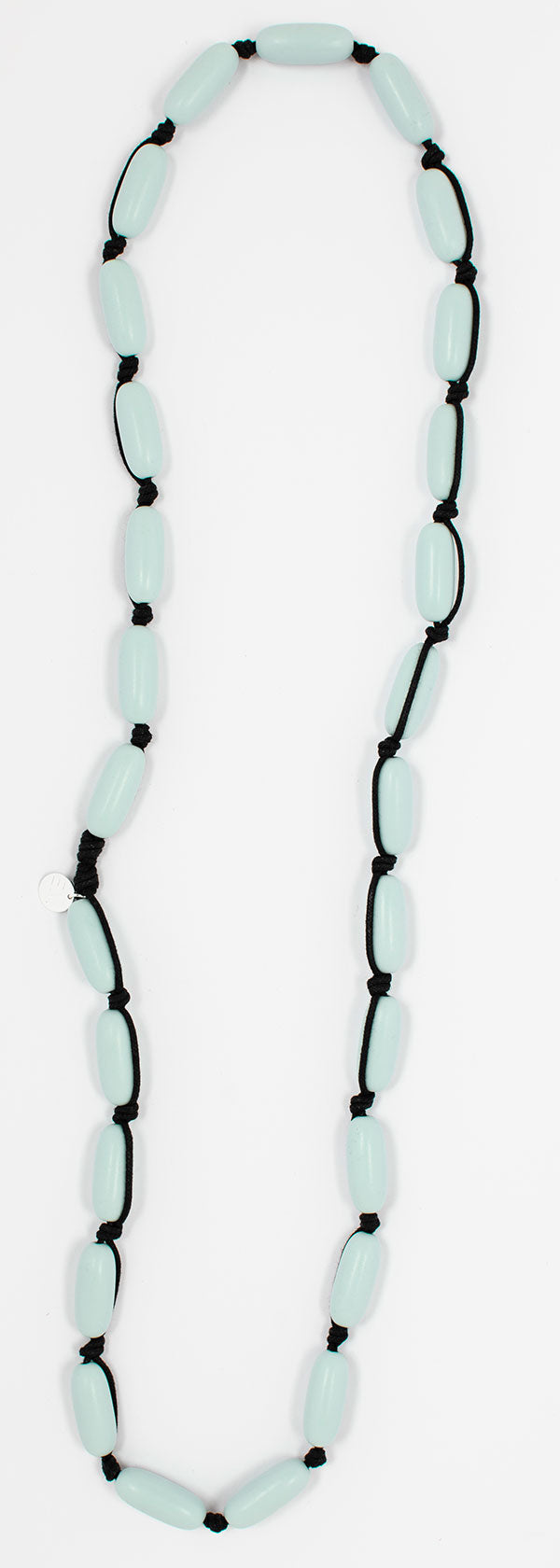 Evie Marques Midi necklace Cloud on black cord