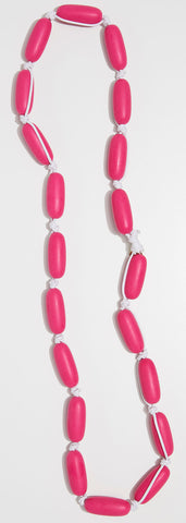 Evie Marques Endless Summer necklace Party on white cord