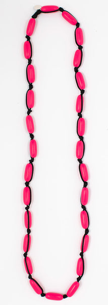 Evie Marques Midi necklace Party on black cord