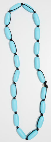 Evie Marques Original necklace Pool on black cord