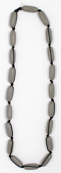 Evie Marques Original necklace Stone on black cord