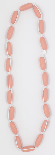 Evie Marques Endless Summer necklace Sunset on white cord