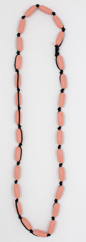 Evie Marques Midi necklace Sunset on black cord