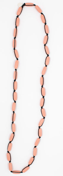 Evie Marques Mini necklace Sunset on black cord