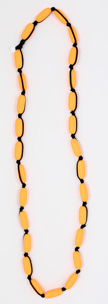Evie Marques Midi necklace Pop on black cord