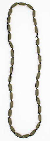 Evie Marques Mini necklace Utility on black cord