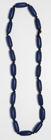 Evie Marques Original necklace Varsity on black cord