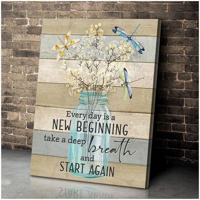 Canvas - Dragonfly - New Beginning