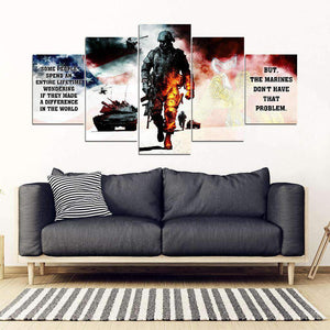 Canvas 5 pieces - Marine - Don't have that problem - yenyenstore